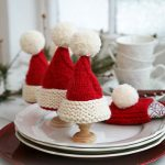 Christmas egg warmers and Christmas serviette ring