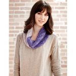 Cowl on the Bias Free Knitting Pattern