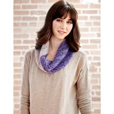 Cowl on the Bias Free Knitting Pattern