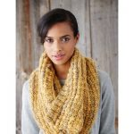 Cushiest Cowl Free Knitting Pattern from Patons