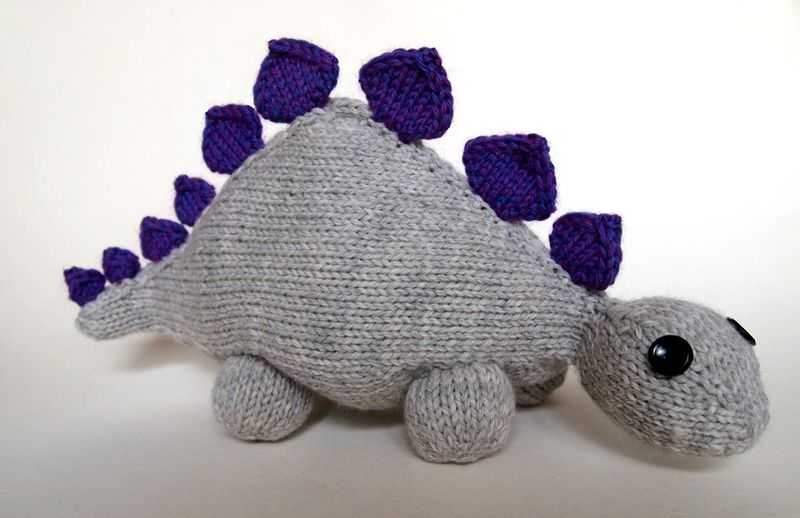 Dinosaur Jr. Free Knitting Pattern