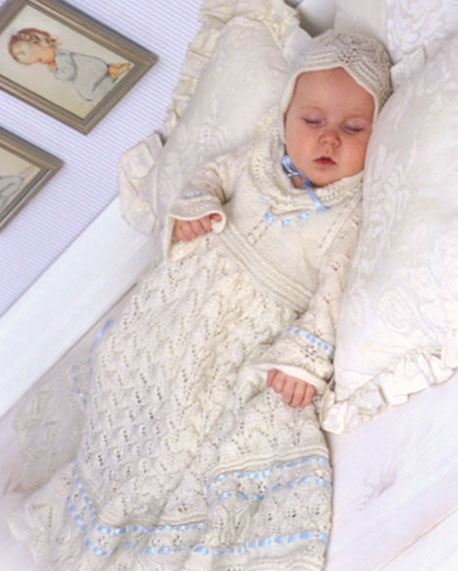Free Knitting Patterns For Christening Gowns Knitting Bee