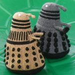 EXTERMIKNIT! Dalek from Doctor Who Knitting Pattern