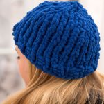 Easy Peasy Bulky Hat Free Knitting Pattern