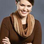 Free Knitting Pattern - Tiramisu Cowl