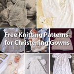 Free Knitting Patterns for Christening Gowns http://www.knitting-bee.com/