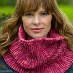 Garter Stitch Cowl Free Knitting Pattern