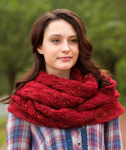 garter-and-lace-cowl-free-knitting-pattern