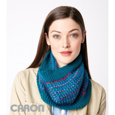 Let It Slip Knit Cowl Free Knitting Pattern
