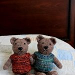 Magic Loop Teddy Free Knitting Pattern