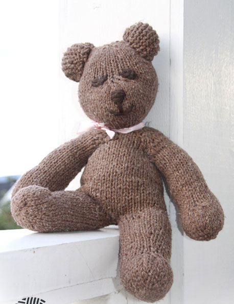 Mister Bean The Teddy Free Knitting Pattern Knitting Bee