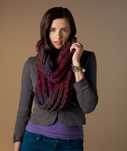 Out of This World Cowl Free Knitting Pattern