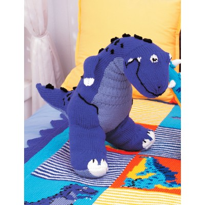 Patons T Rex Toy Free Knitting Pattern