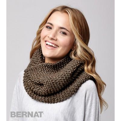 Shimmer Cowl Free Beginner Women's Knit Pattern