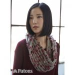 Twisted Ridges Cowl Free Easy Women's Knit Pattern