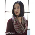 Twisted Ridges Cowl Free Easy Women's Knit Pattern