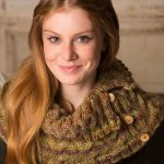 Ups-and-Down Cowl Free Cable Knitting Pattern