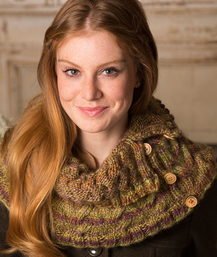 Ups And Down Cowl Free Cable Knitting Pattern Knitting Bee