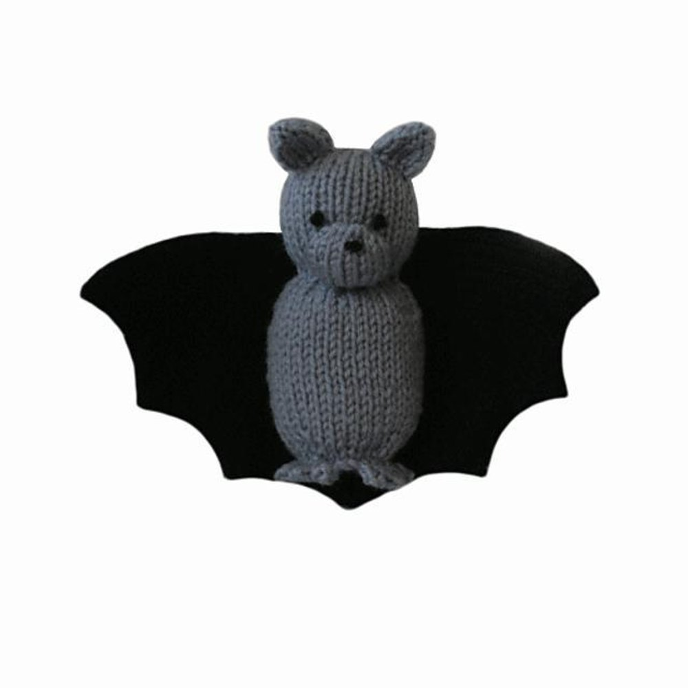 bat halloween knitting pattern - Free Halloween Knitting Patterns