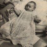 Baby's Christening Robe Free Knitting Pattern