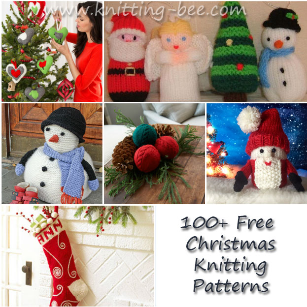 100+ Free Christmas Knitting Patterns to Love and Cherish (129 free knitting ...