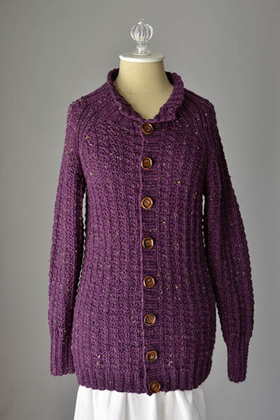 Ambling Cardigan Free Knitting Pattern
