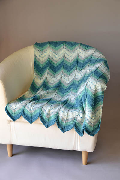30 Free Knitting Patterns For Knee Rugs