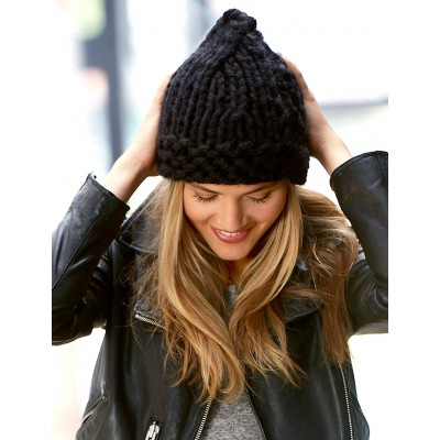 50 Free Easy Hat Knitting Patterns for Winter ⋆ Knitting Bee 455d133d895