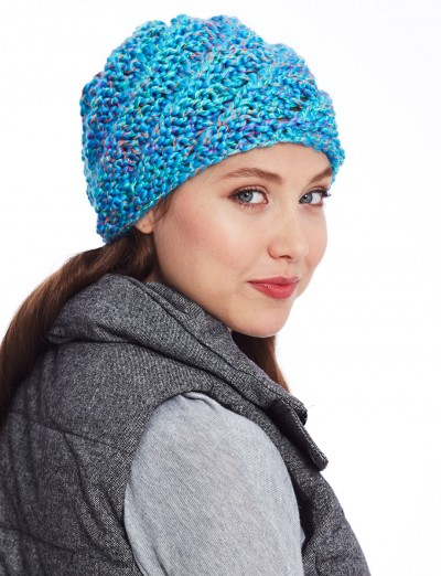 50 Free Easy Hat Knitting Patterns for Winter ⋆ Knitting Bee b3e941d654d