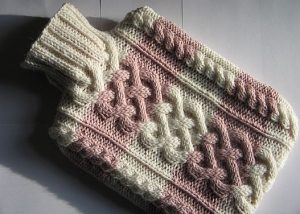 free knitting pattern for a hot water bottle