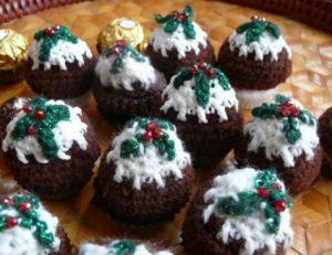 Christmas Knitting Pattern Pudding
