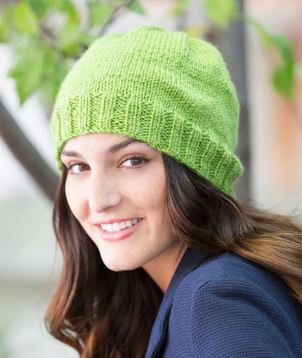 50 Free Easy Hat Knitting Patterns for Winter ⋆ Knitting Bee af5b86b6387