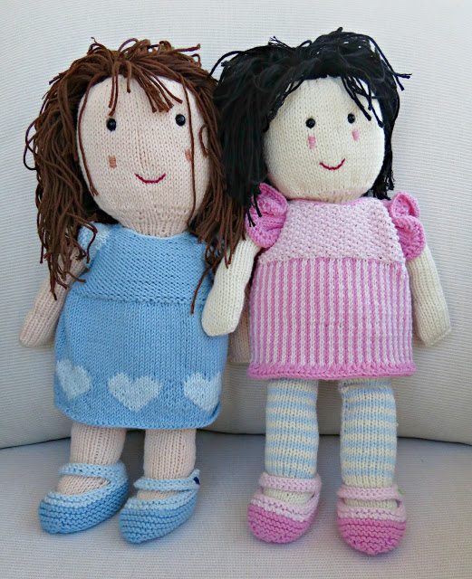Costa Brava Rag Dolls Free Knitting Pattern ⋆ Knitting Bee Stunning Knitted Doll Patterns