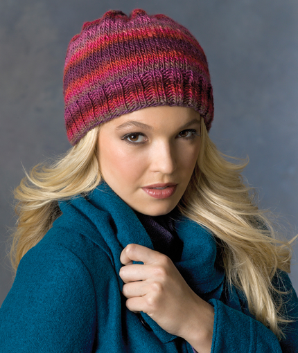 easy free hat knitting pattern for winter