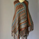 cabled poncho free knitting pattern