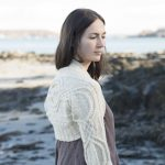 cabled shrug knit pattern