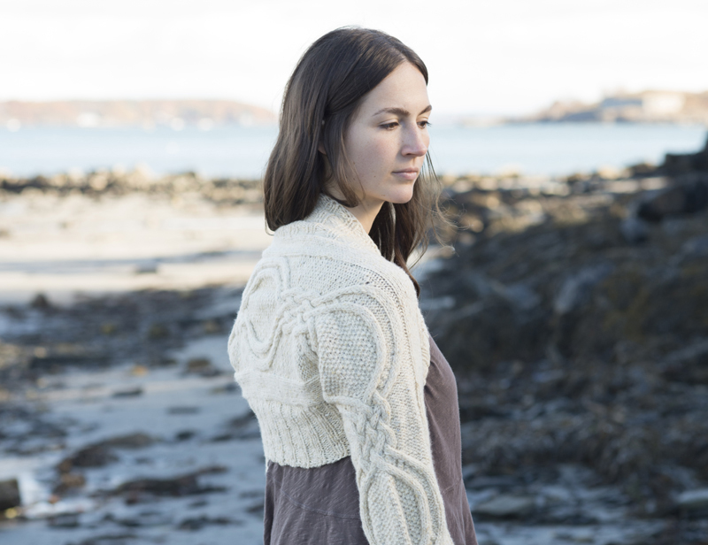 Free free cabled shrug knitting patterns Patterns ⋆ Knitting Bee (4 ...