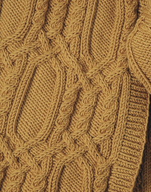 Experienced cable throw knitting pattern free