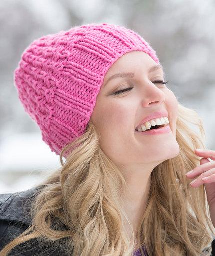 hat bulky knit