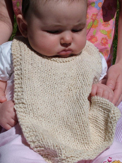 free bib knit pattern