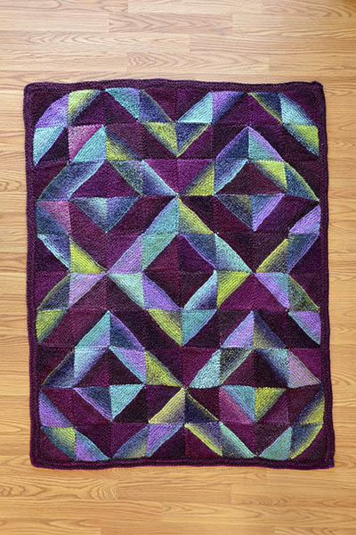 garter stitch quilt knitting pattern