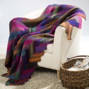 garter stitch knee rug pattern
