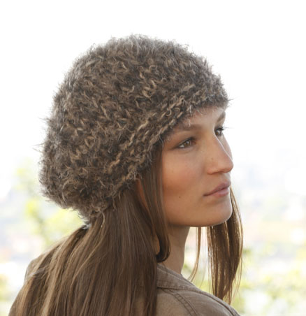 easy hat knit pattern with bulky yarn
