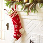 Holiday Swirled Stocking