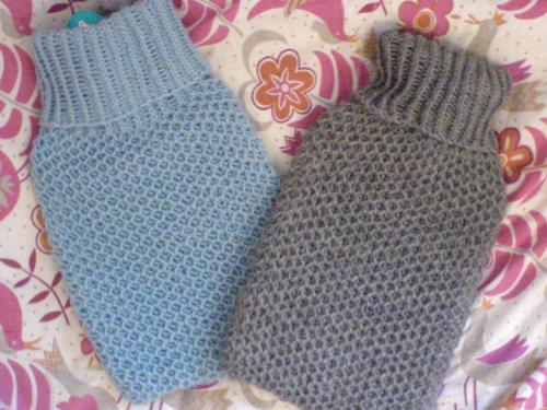 25 Knitting Pattern Hot Water Bottle Cover