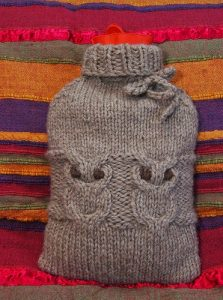 Knitting Pattern Hot Water Bottle Cover