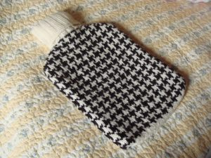 Houndstooth Hot Water Bottle