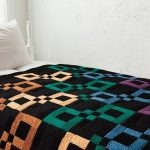 Infinite Rainbow Throw free knitting pattern