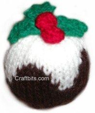 Knitting Patterns Christmas Puddings