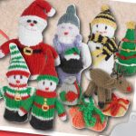 Knitted Mini Christmas Figures Patterns